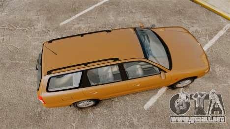 Daewoo Nubira I Wagon CDX PL 1998 para GTA 4 visión correcta