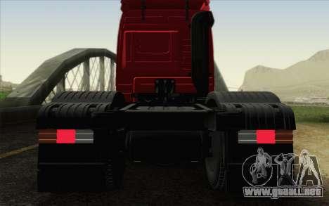 Mercedes-Benz Actros para la vista superior GTA San Andreas