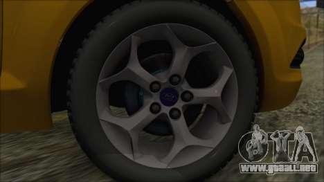 Ford Focus 2008 Station Wagon-Stock para GTA San Andreas vista posterior izquierda