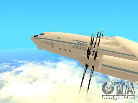 An-22 Antei para GTA San Andreas left