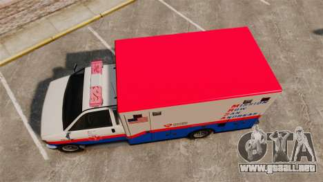Brute MRSA Paramedic para GTA 4 visión correcta