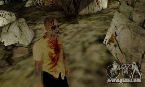 Zombies de GTA V para GTA San Andreas sucesivamente de pantalla