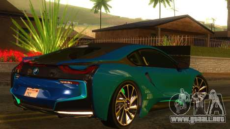 BMW I8 2013 para GTA San Andreas left