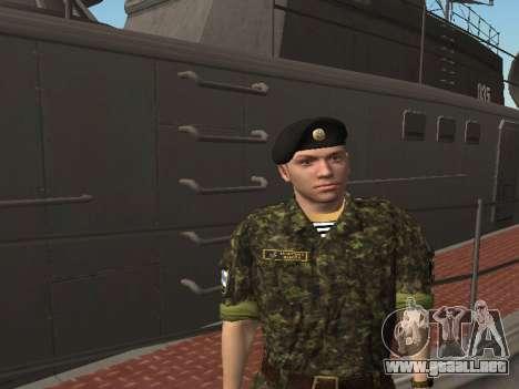 El Cuerpo de infantería de marina de las fuerzas para GTA San Andreas quinta pantalla