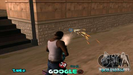 C-HUD Google para GTA San Andreas tercera pantalla