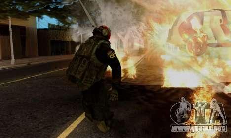 Kopassus Skin 1 para GTA San Andreas séptima pantalla