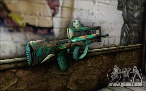 Famas G2 Commando Blaze para GTA San Andreas segunda pantalla