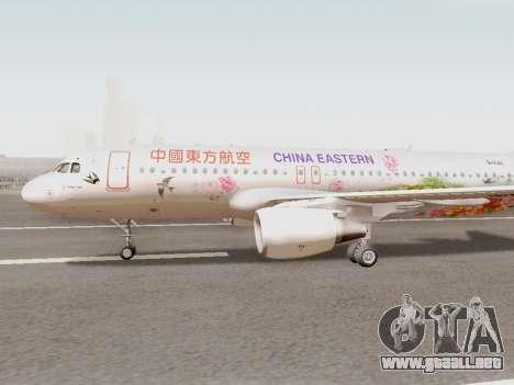 Airbus A320-211 China Eastern para GTA San Andreas left