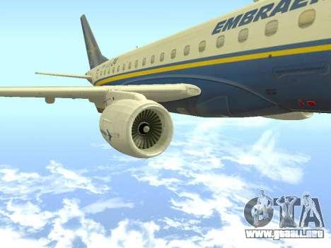Embraer 175 HOUSE para la visión correcta GTA San Andreas