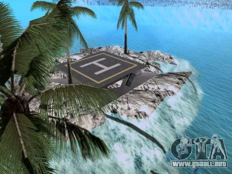 Nueva isla v1.0 para GTA San Andreas séptima pantalla