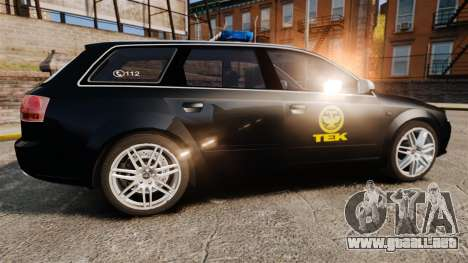 Audi S4 Avant TEK [ELS] para GTA 4 left