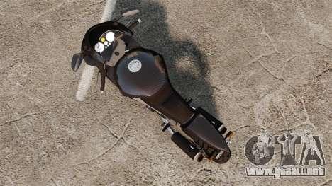 GTA V Nagasaki Carbon RS [Update] para GTA 4 Vista posterior izquierda