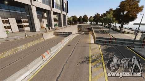 Ilegal de la calle deriva de la pista para GTA 4 octavo de pantalla