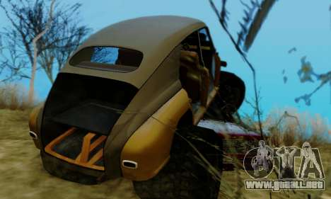 GAS M20 Monstruo para vista lateral GTA San Andreas