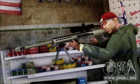 Alfa Team Weapon Pack para GTA San Andreas novena de pantalla