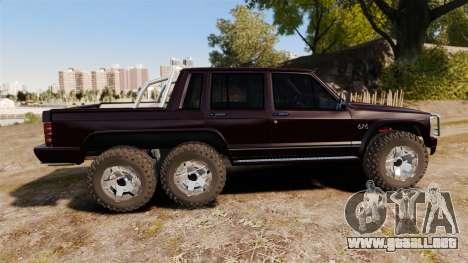 Jeep Carver 6X6 para GTA 4 left