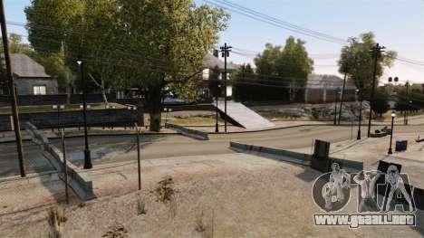 Rally de pista para GTA 4 novena de pantalla