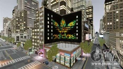 Gran publicidad de Adidas Originals para GTA 4