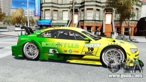 Audi RS5 DTM para GTA 4 left