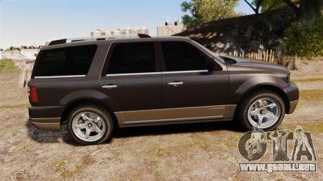 Dundreary Landstalker new wheels para GTA 4 left