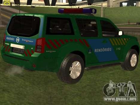 Nissan Pathfinder Police para el motor de GTA San Andreas
