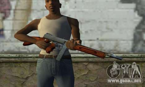 Thompson M1 para GTA San Andreas tercera pantalla