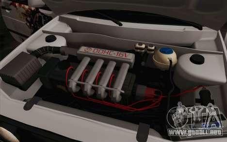 Volkswagen Golf 2 para la vista superior GTA San Andreas