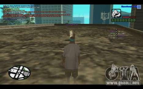 GM bala para SAMP 0.3z para GTA San Andreas segunda pantalla