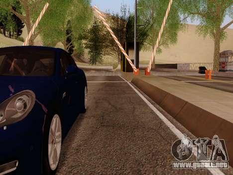 Costumbres SF-LV para GTA San Andreas sucesivamente de pantalla
