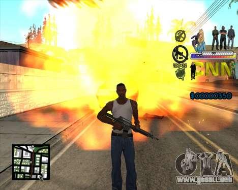 C-HUD CNN para GTA San Andreas tercera pantalla