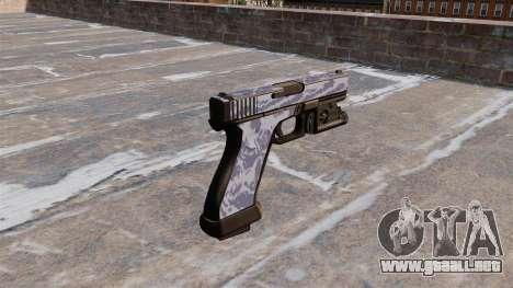 La Pistola Glock 20 Blue Tiger para GTA 4 segundos de pantalla