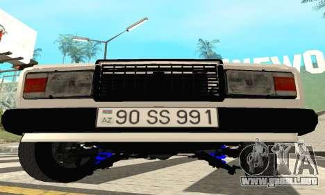 VAZ 2107 Avtosh para GTA San Andreas left