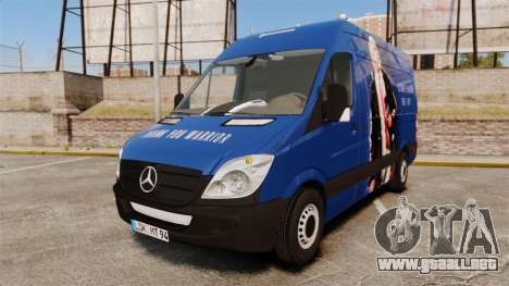 Mercedes-Benz Sprinter 2011 WWE Ultimate Warrior para GTA 4