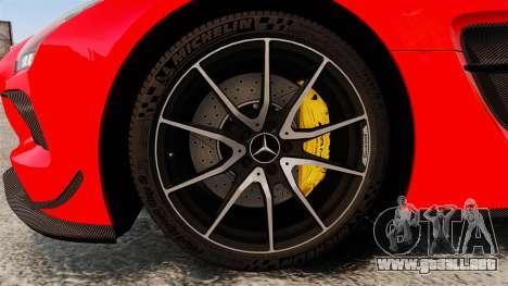 Mercedes-Benz SLS 2014 AMG UAE Theme para GTA 4 vista hacia atrás
