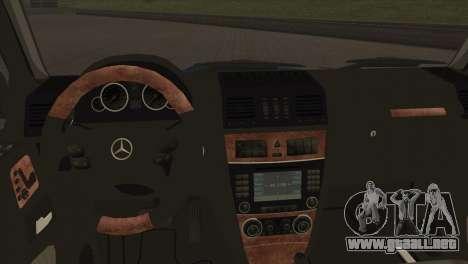 Mercedes-Benz G63 AMG 6X6 para vista lateral GTA San Andreas