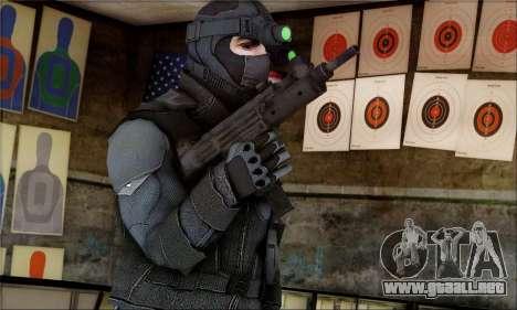 Alfa Team Weapon Pack para GTA San Andreas segunda pantalla