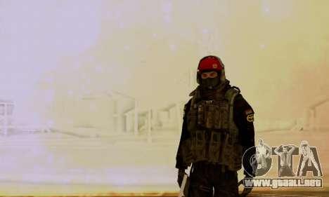 Kopassus Skin 1 para GTA San Andreas tercera pantalla