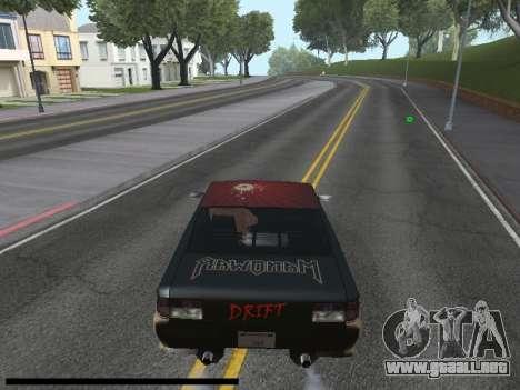 Vinilos para el Sultán para la visión correcta GTA San Andreas