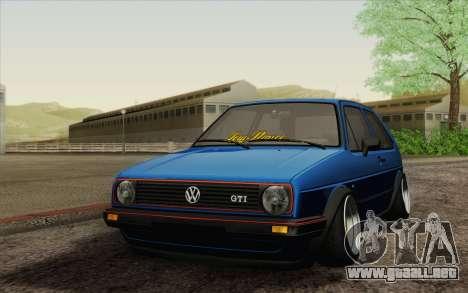 Volkswagen Golf MK2 LowStance para GTA San Andreas