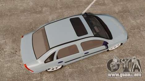 Chevrolet Corsa Premium Sedan para GTA 4 visión correcta