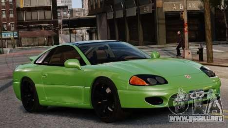 Dodge Stealth Turbo RT 1996 para GTA 4 visión correcta