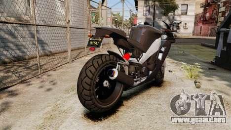 GTA V Nagasaki Carbon RS para GTA 4 visión correcta