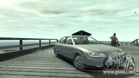Daewoo Shiraz para GTA 4 Vista posterior izquierda