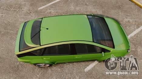Karin Dilettante new wheels para GTA 4 visión correcta