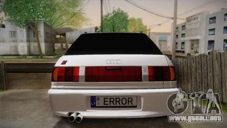 Audi RS2 Avant para visión interna GTA San Andreas