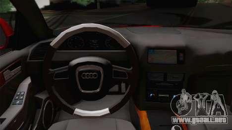 Audi Q5 2012 para la visión correcta GTA San Andreas