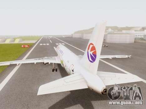Airbus A320-211 China Eastern para la visión correcta GTA San Andreas