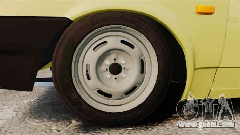 VAZ-Lada 21099 Satélite para GTA 4 vista hacia atrás