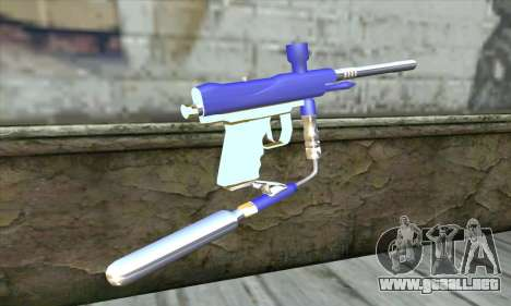 Paintball Gun para GTA San Andreas segunda pantalla