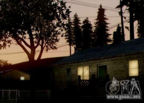 Currently ENB 2.0 para GTA San Andreas segunda pantalla